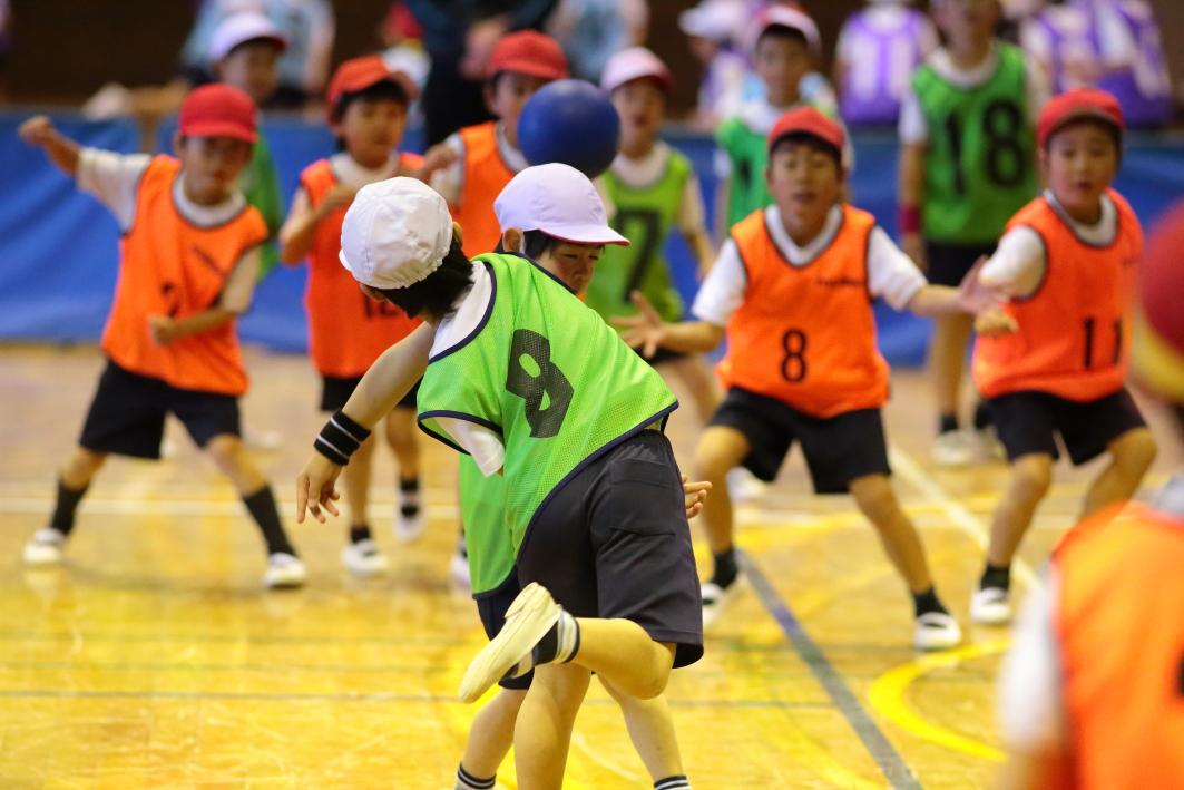 少年少女ドッジボール大会が開催...